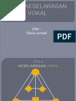 Pola Keselarasan Vokal