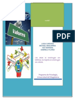 Valores, Actividades La Paz Salud, (2)