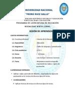 SESION N°5 LA SILABA , REGLAS DE PUNTUACION Y  TILDACIÓN.docx