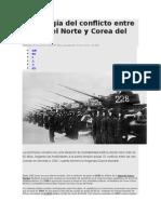 Cronología Del Conflicto Entre Corea Del Norte y Corea Del Sur