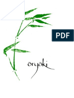 Oryoki Book