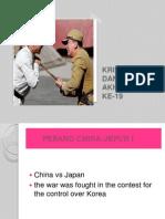 Krisis China Dan Jepun