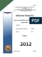 142574524 Informe Final 4 Laboratorio de Electrotecnia