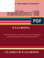 e-learning  m-learning