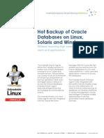 Zmanda Oracle Datasheet