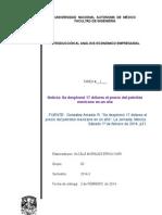Noticia 1. Analisis Empresarial