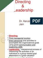 Directing organization