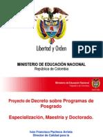 Iván Francisco Pacheco Arrieta Director de Calidad para la Educación Superior