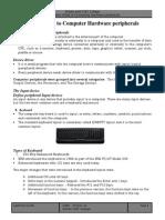 Computer Hardware Peripherals