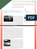 iPhone Voiture Kit Main Bluetooth Libre Auto - Dension