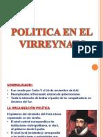 POLÍTICA EN EL VIRREYNATO