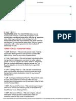 Trade Terminology
