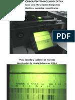 3-Espectrografía y ICP 11 Setiembre 14