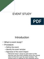 Event Study