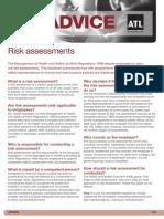 ADV8 Risk Assessment - May 2012