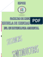 SUSTANCIAS SEMICONDUCTORAS