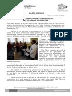 13 de noviembre de 2014 CELEBRA  JURISDICCIÓN VALLES CENTRALES MES DE LA SALUD REPRODUCTIVA.doc