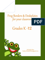 __Title Frog Borders and Deskplates