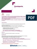 Maintenance Omnisports Maintenance Guidelines Df