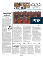 The Daily Tar Heel for Nov. 14, 2014