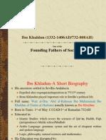 Ibn Khaldun (1332-1406AD
