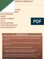 Disenos Factoriales 2 a La K