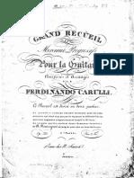Carulli - Op.333 -Grand Recueil