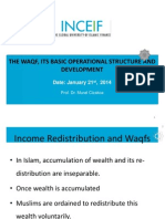 The Waqf, Its Basic Operational Structure and Development by Prof. Dr. Murat Cizakca