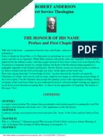 Anderson, Robert - The Honour of His Name (b)