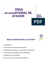 Mediul International de Afaceri