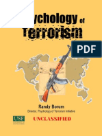 Psychology of Terrorism