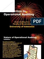 Introduction to Operasional Audit