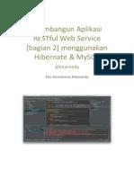 Membangun Aplikasi RESTful Web Service [Bagian 2] Menggunakan Hibernate