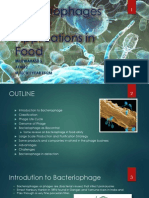 Applications of Bacteriophages in Food