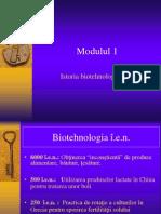 B1 1 Istoria Biotehnologiei
