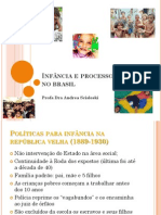 Infância e Processo Político No Brasil