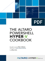 Altaro PowerShell Hyper v Cookbook