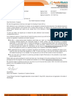 Policy Schedule Renewal