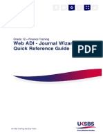 Web ADI - Journal Wizard Quick Reference Guide