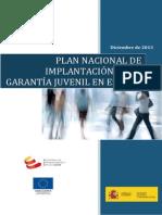 Plan Nacional Garantía Juvenil