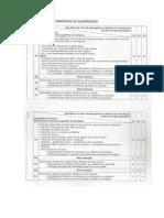 Critérios Específicos de Classificação