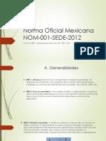 NOM 001 SEDE 2012 Articulo 280 Apartarrayos
