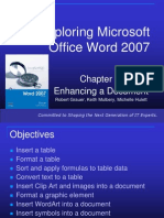 Exploring Microsoft Office Word 2007 Ch3