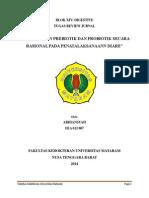 Penggunaan Prebiotik Dan Probiotik Secara Rasional Pada Penatalaksanaan Diare