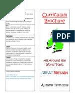 Class 3 - Curriculum Brochure Autumn 2014 Great Britain