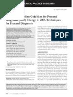 Amndament La Diagnostic Prenatal in Canada