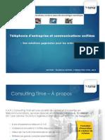 Téléphonie d'Entreprise Et Communications Unifiées - 2014
