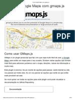 Criar Google Maps Com Gmaps