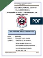 Informe de Calculo IIi