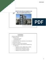 Destilacic3b3n de Mezclas Multicomponentes1